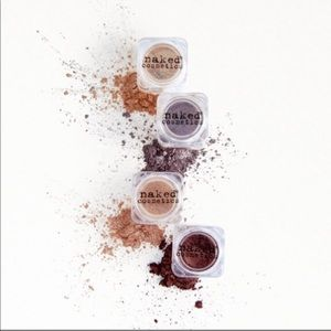 Naked | 4 Piece Loose Pigment Set